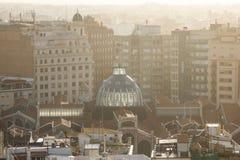 Πανοραμική άποψη της Βαλένθια, Ισπανία Στοκ εικόνα με δικαίωμα ελεύθερης χρήσης