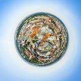 Πανοραμική άποψη της Λειψίας Στοκ φωτογραφία με δικαίωμα ελεύθερης χρήσης