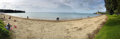 Πανοραμική άποψη της παραλίας κόλπων Browns Στοκ φωτογραφίες με δικαίωμα ελεύθερης χρήσης