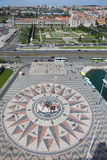Πανοραμική άποψη της περιοχής του Βηθλεέμ στη Λισσαβώνα Στοκ φωτογραφίες με δικαίωμα ελεύθερης χρήσης