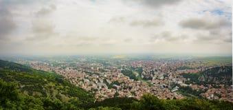 Πανοραμική άποψη της πόλης του Αζένοβγκραντ στοκ εικόνες με δικαίωμα ελεύθερης χρήσης