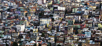Πανοραμική άποψη της πόλης του Ιζμίρ Στοκ εικόνα με δικαίωμα ελεύθερης χρήσης