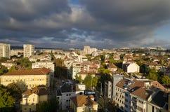 Πανοραμική άποψη της πόλης Pleven Στοκ Εικόνες