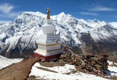 Πανοραμική άποψη της σειράς Annapurna Στοκ Εικόνες