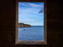 Πανοραμική άποψη του μεγάλου λιμανιού Στοκ Φωτογραφία