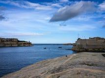Πανοραμική άποψη του μεγάλου λιμανιού Στοκ εικόνα με δικαίωμα ελεύθερης χρήσης