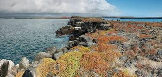 Πανοραμική άποψη του νησιού νότιου Plaza στοκ εικόνες
