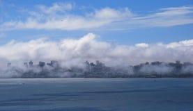 Πανοραμική άποψη του Σαν Φρανσίσκο, ΗΠΑ Στοκ Εικόνες