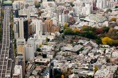 Πανοραμική άποψη του Τόκιο Στοκ εικόνα με δικαίωμα ελεύθερης χρήσης