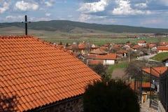 Πανοραμική άποψη του χωριού Belchin Στοκ Φωτογραφία