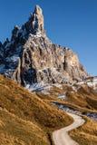 Πανοραμική άποψη του della Pala του Κίμωνος Στοκ εικόνες με δικαίωμα ελεύθερης χρήσης