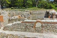 Πανοραμική άποψη των αρχαίων θερμικών λουτρών Diocletianopolis, πόλη Hisarya, Βουλγαρία Στοκ Εικόνες