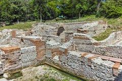 Πανοραμική άποψη των αρχαίων θερμικών λουτρών Diocletianopolis, πόλη Hisarya, Βουλγαρία Στοκ φωτογραφίες με δικαίωμα ελεύθερης χρήσης
