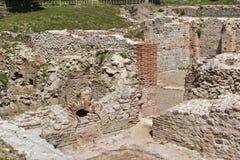 Πανοραμική άποψη των αρχαίων θερμικών λουτρών Diocletianopolis, πόλη Hisarya, Βουλγαρία Στοκ εικόνες με δικαίωμα ελεύθερης χρήσης