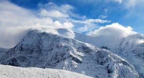 Πανοραμική άποψη Annapurna 3 ΙΙΙ Στοκ Εικόνες