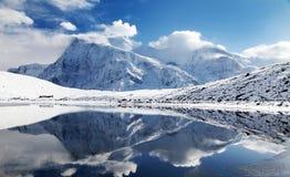 Πανοραμική άποψη Annapurna Στοκ φωτογραφία με δικαίωμα ελεύθερης χρήσης