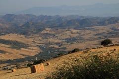 Πανοραμική άποψη EL Torcal, Antequera, Ισπανία Στοκ φωτογραφία με δικαίωμα ελεύθερης χρήσης