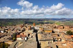 Πανοραμική άποψη Orvieto Ιταλία Στοκ φωτογραφία με δικαίωμα ελεύθερης χρήσης