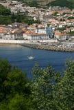 Πανοραμική άποψη Terceira νησιών της Πορτογαλίας Αζόρες Angra do Heroismo Στοκ φωτογραφία με δικαίωμα ελεύθερης χρήσης