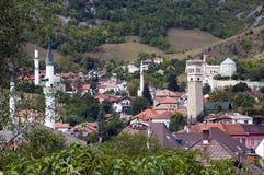 Πανοραμική άποψη Travnik Στοκ φωτογραφία με δικαίωμα ελεύθερης χρήσης