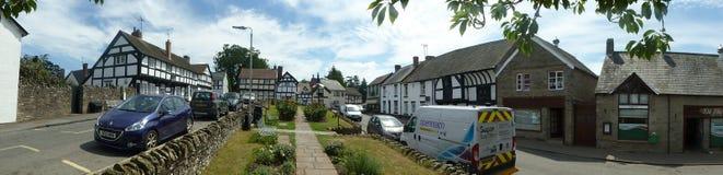 Πανοραμική άποψη Weobley, Herefordshire στοκ εικόνες με δικαίωμα ελεύθερης χρήσης
