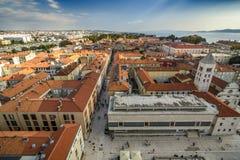 Πανοραμική άποψη Zadar στοκ εικόνα με δικαίωμα ελεύθερης χρήσης