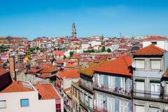 Πανοραμική εναέρια άποψη της παλαιάς πόλης Πόρτο σε μια όμορφη ημέρα φθινοπώρου, Πορτογαλία, Πόρτο στοκ εικόνες