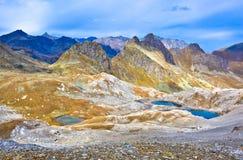 Πανοραμική θέα βουνού, Καύκασος, Ρωσία Στοκ φωτογραφίες με δικαίωμα ελεύθερης χρήσης