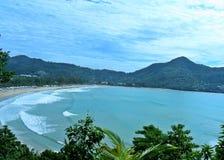 Πανοραμική θέα της θάλασσας στοκ εικόνα