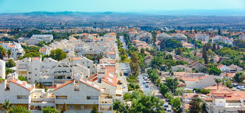 Πανοραμική θέα των προαστίων του Τελ Αβίβ Στοκ Εικόνες