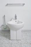 πανοραμική λήψη τουαλετών Στοκ εικόνα με δικαίωμα ελεύθερης χρήσης