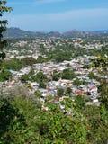 Πανοραμική ομορφιά άποψης πρωτευουσών Δομινικανής Δημοκρατίας του Domingo Santo στοκ φωτογραφίες