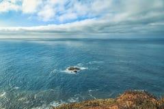 Πανοραμική παράκτια άποψη σε Cabo DA Roca Στοκ Εικόνα