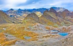 πανοραμική όψη βουνών Στοκ εικόνες με δικαίωμα ελεύθερης χρήσης