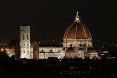 πανοραμική όψη πόλεων cattedrale del Di fiore santa Λα Μαρία Στοκ Εικόνα