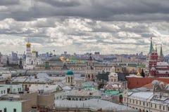 πανοραμική όψη της Μόσχας Στοκ Φωτογραφίες