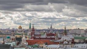 πανοραμική όψη της Μόσχας Στοκ φωτογραφίες με δικαίωμα ελεύθερης χρήσης