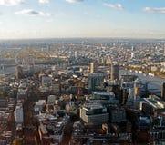 πανοραμική όψη του Λονδίν&omicr Στοκ εικόνα με δικαίωμα ελεύθερης χρήσης