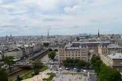 Πανοραμική όψη του Παρισιού Στοκ Εικόνες