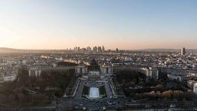 Πανοραμική όψη του Παρισιού Στοκ εικόνες με δικαίωμα ελεύθερης χρήσης
