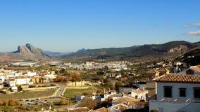 Πανοραμικός της antequera-Μάλαγα-Ανδαλουσίας Ισπανία Στοκ φωτογραφία με δικαίωμα ελεύθερης χρήσης