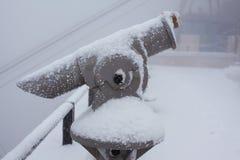 πανοραμικό τηλεσκόπιο Στοκ Φωτογραφία