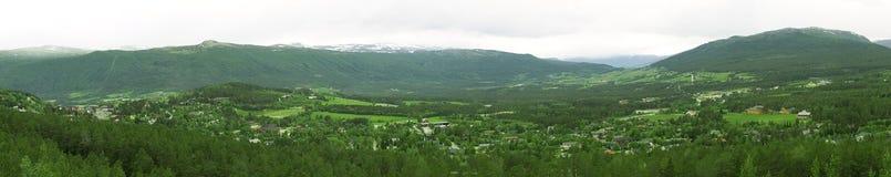 πανοραμικό χωριό Στοκ Εικόνες