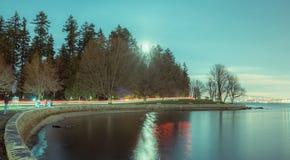 Πανσέληνος πάρκων του Stanley στοκ φωτογραφία με δικαίωμα ελεύθερης χρήσης