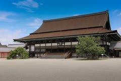 Πανσιόν στο αυτοκρατορικό παλάτι, Κιότο, Ιαπωνία Στοκ εικόνα με δικαίωμα ελεύθερης χρήσης