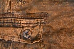 Παντελόνι με τη λάσπη στοκ εικόνα