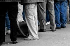 παντελόνι ποδιών τζιν Στοκ Φωτογραφίες