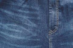 Παντελόνι τζιν μερών του μπλε χρώματος με ένα codpiece Στοκ φωτογραφίες με δικαίωμα ελεύθερης χρήσης