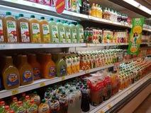 Παντοπωλείο στη γιγαντιαία υπεραγορά, Μαλαισία στοκ φωτογραφία με δικαίωμα ελεύθερης χρήσης