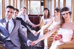 Παντρεμένα ζευγάρια Στοκ φωτογραφία με δικαίωμα ελεύθερης χρήσης